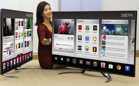 LG\'s 2013 Google TV sets to come in more sizes, fresher designs | Inside Google | Scoop.it