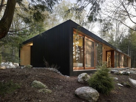 Clear Lake Cottage by MacLennan Jaunkalns Miller Architects | Breathtaking Architecture | Scoop.it