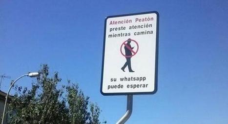 Cartel peligro Whatsapp   noticias de tecnologia   Scoop.it