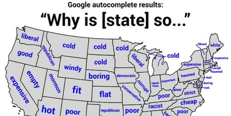 The Biggest Stereotype Of Every State In America In 1 Map | Current Events | Scoop.it