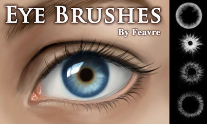 35 Useful Eye Photoshop Brushes To Enhance Your Design | Naldz Graphics | Photoshop Tutorials | Scoop.it