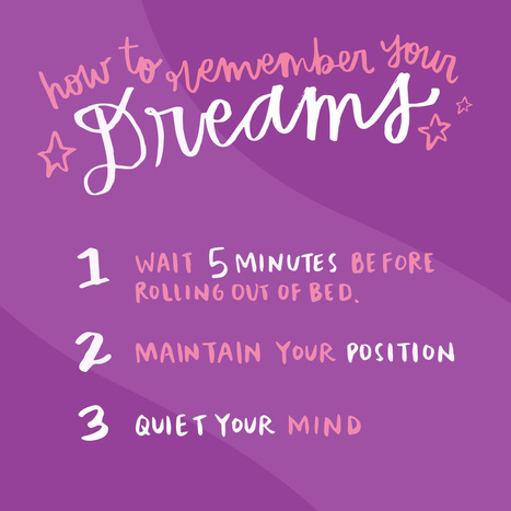 I Asked a Dream Expert to Interpret My Dreams and the Results Were Crazy | Notes From a Dreamer | Scoop.it