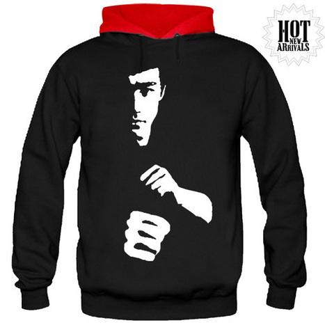 BRUCE LEE FULL SLEEVE HOODIE | SAY IT LOUD | t shirt printing | Scoop.it
