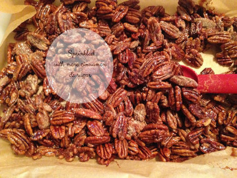 Candied Pecans Glazed Sweet and Salty Gift by ilPiccoloGiardino | Candy Buffet Weddings, Events, Food Station Buffets and Tea Parties | Scoop.it