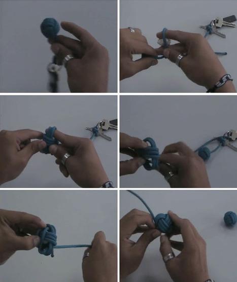 Crea tu llavero de bola marinera | BricoBlog | Manualidades para niños | Scoop.it