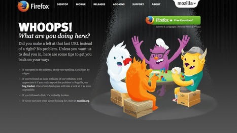 4 Ways to Delight Visitors With Your 404 Error Page | digital marketing strategy | Scoop.it