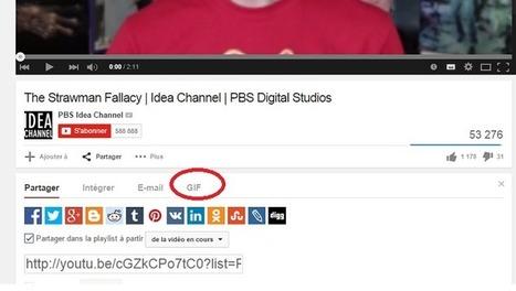 YouTube teste un générateur de GIFs animés   Social Media Curation par Mon Habitat Web   Scoop.it