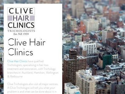 Clive Hair Clinics   clive1@pureseo.co.nz   Scoop.it