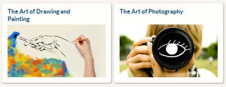 Cursos gratuitos sobre fotografía, dibujo y pintura   PENSANDO Y EDUCANDO EN TIC   Scoop.it