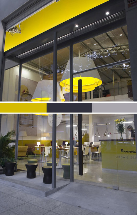 Business Blog / 8 Coffee Shops Using Color & Design to Attract Customers by COLOURlovers :: COLOURlovers | Designing Interiors | Scoop.it
