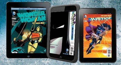 DC Comics announces sweeping ebook push - Geek | Library learning centre builds lifelong learners. | Scoop.it