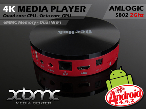 Beelink M8 is an Android TV Box 4K player with Amlogic S802 SoC - eleZine - Magazine About Electronics | Android TV Boxes | Scoop.it
