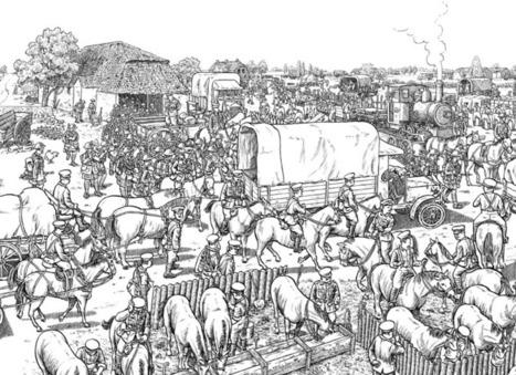 La Bataille de la Somme par Joe Sacco s'affiche à Montparnasse | Nos Racines | Scoop.it