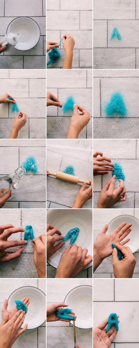 Wool Alphabet DIY | Du fait main & some handmade | Scoop.it