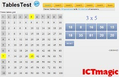 Times tables test | Smart ICT use in business | Scoop.it