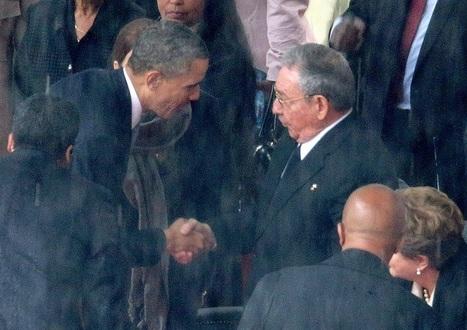 Obama e Castro, storico incontro a Panama | #chicercate | Scoop.it