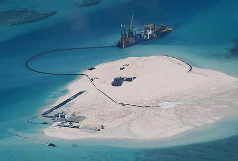 "Chinese poachers destroyed coral reefs in Spratly, Pag-asa islands (""all happening in the open sea"") 