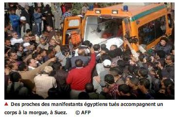 Égypte : 30 tués à Port-Saïd, l'opposition fait monter la pression sur Morsi | Égypt-actus | Scoop.it