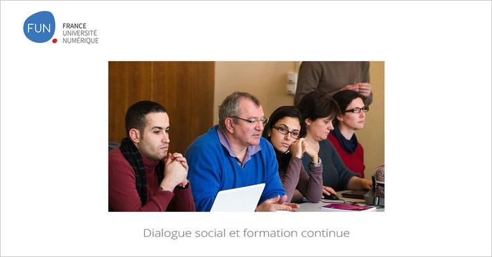 [Today] MOOC Dialogue social et formation continue | MOOC Francophone | Scoop.it