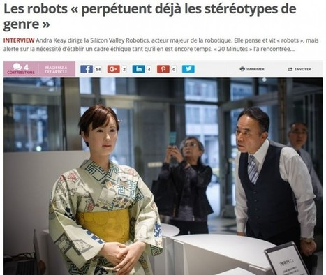 Mieux qu'Asimov: cette chercheuse énonce cinq lois de la robotique - Rue89 - L'Obs | mvasteels | Scoop.it