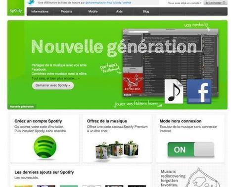 Musique: Comment Spotify tente de devenir incontournable (20 minutes) | what's up in librairies ? | Scoop.it