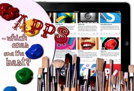 Art Education iPad Apps – Which Ones Are the Best? | The Teaching Palette | The Arts! A Key to Student Success in School | Scoop.it