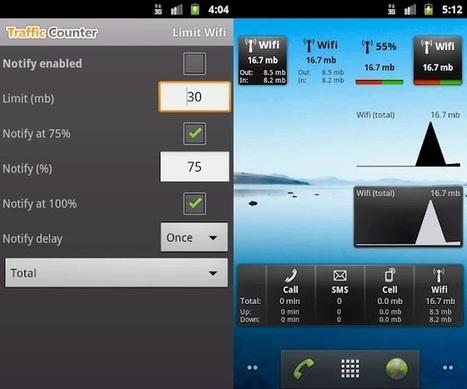 Controla el tráfico de datos en tu móvil (III): Traffic Counter Extended para Android | Recull diari | Scoop.it