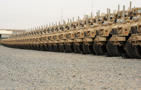 U.S. Army is Giving Away 13,000 MRAPs to Patrol America - The Rundown Live | Criminal Justice in America | Scoop.it