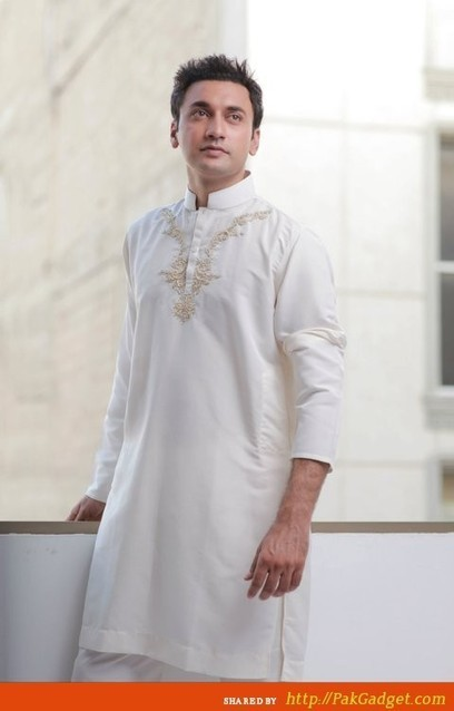 Gul Ahmed Men's And Kids Summer Eid Kurta Collection 2013 | stylostyle | Scoop.it