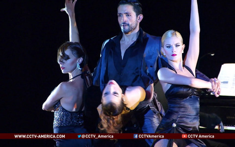 'Tango Lovers' tour creates sensation in US - CCTV-America | Sensational Dancing | Scoop.it