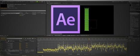 After Effects : Animer un Vu-métre à l'aide d'une source audio | After effects | Scoop.it