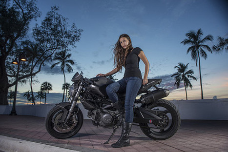 College student bonds with her dad on a Ducati Monster 696 | Wall Street Journal | Ductalk Ducati News | Scoop.it