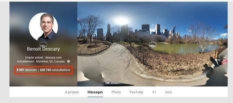 Google+ : comment masquer le nombre fois que votre page ou profil a été consulté | Geeks | Scoop.it