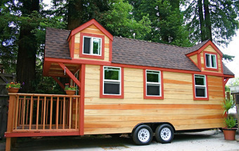 We want a tiny house!   Small All Season Homes On Wheels   Scoop.it