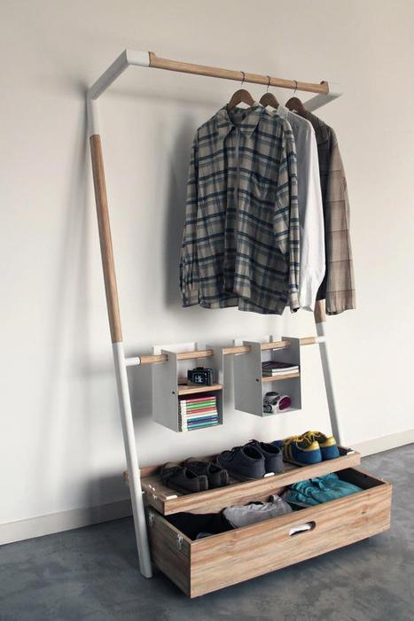Storage is different / wardrobe bu Oboi Design Studio | Du mobilier, ou le cahier des tendances détonantes | Scoop.it