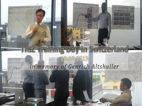 In Memory of Genrich Altshuller's birthday, let's celebrate TRIZ | Innovation Management with TRIZ | Scoop.it