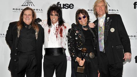 Alice Cooper reunites with old bandmates | Deranged News | Scoop.it