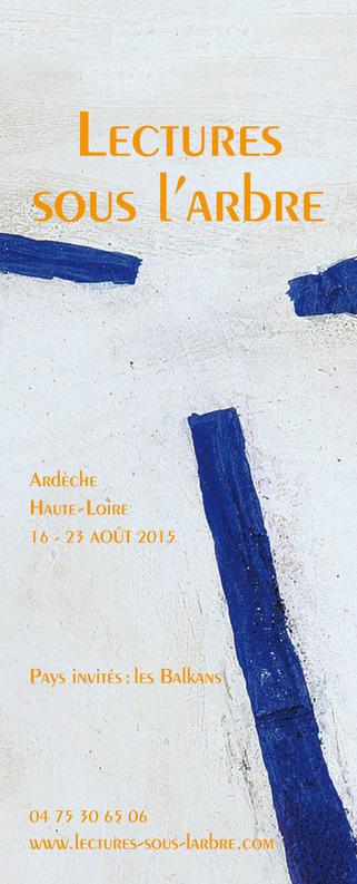 [agenda], 16 au 23 Août, Ardèche, Haute-Loire, Le Programme des Lectures sous l'arbre | Poezibao | Scoop.it