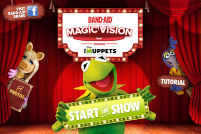 BAND-AID Magic Vision Starring Disney's the Muppets   Augmented Reality   Scoop.it