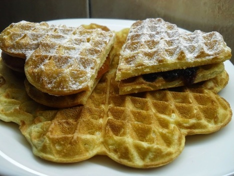 Thin Waffles ~ ibaketoday | IBakeToday | Scoop.it