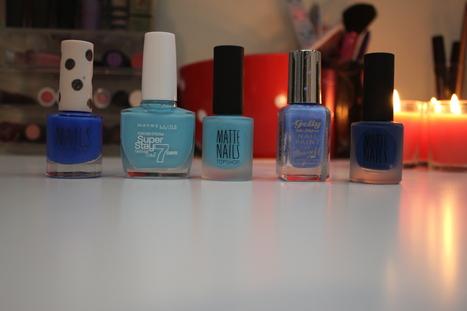 Nails - 5 blues | Beauty | Scoop.it