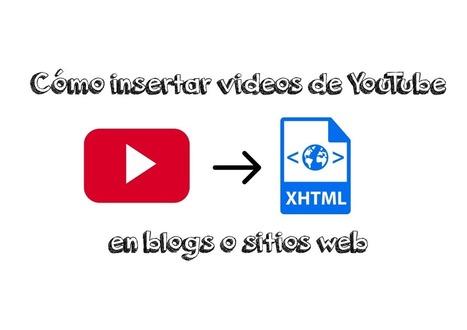 Cómo insertar videos de YouTube en blogs y sitios web | Recursos didácticos y materiales para la formación del profesorado. Servicio de Innovación y Formación del Profesorado | Scoop.it