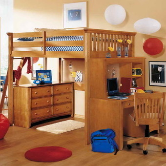 Full Size Loft Beds with Desk | Casino Wallpapers | Loft Bed with Slide | Scoop.it