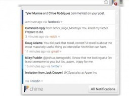 Chime. Outil de notification pour Chrome. | Les outils du Web 2.0 | Scoop.it