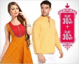 Flat 30% + Flat 30% Off on Ethnic Wear | Jabong Sale | Jabong Sale and Coupon Codes | Scoop.it