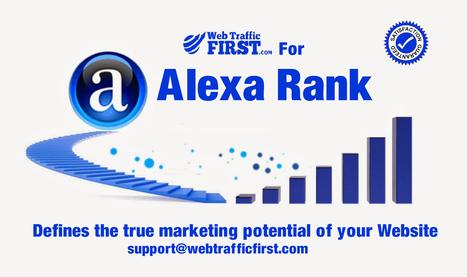 Raise your Alexa ranking | Web Traffic First | Scoop.it