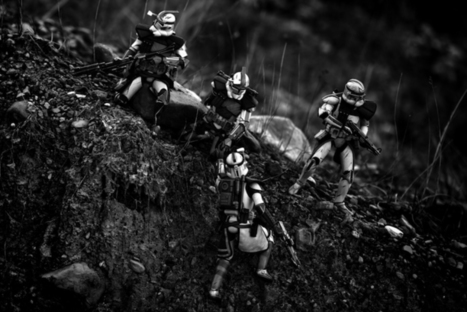 U.S. Marine Recreates Real Combat Experience with Star Wars Toys | Le It e Amo ✪ | Scoop.it