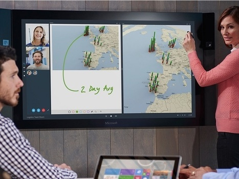 Surface Hub : une Microsoft Surface UHD de 84 pouces - CNET France | Scoop.it Sysico | Scoop.it
