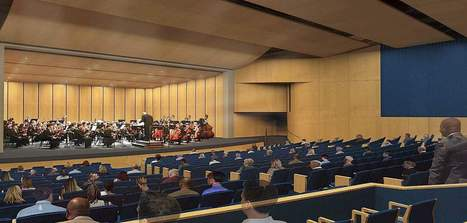 Community voices no objections to Good Counsel's plans to build auditorium - Gazette.Net: Maryland Community News Online   Sontext Acoustic Wood Panels   Scoop.it