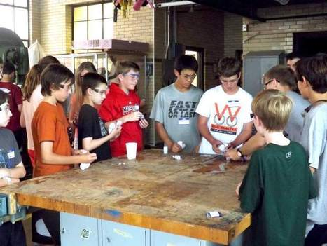 New Trier STEM camp sparks creativity in young students | NW Facebook Content | Scoop.it